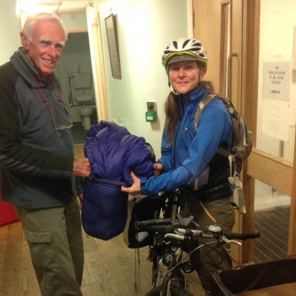 Charity receives donations of sleeping bags for the homeless