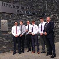 Flux winners of 2014 from Plymouth University