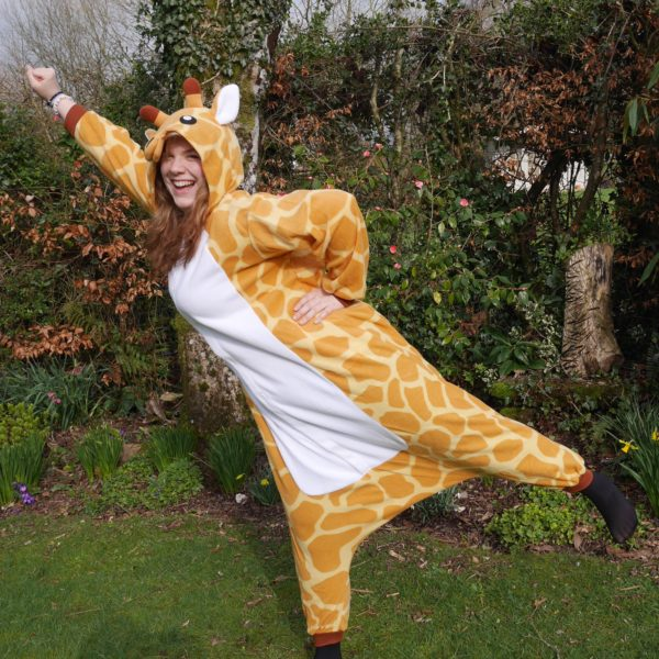 Hannah Carnegie dresses up to raise money for trip-of-a-lifetime