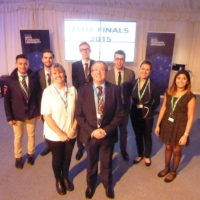 Team Igniting Enterprise who won UK's Flux competition