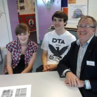 Truro College students get business mentoring advice