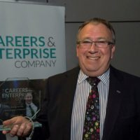 Ali Carnegie, Managing Director of Total Energy Solutions with Mentor+ award