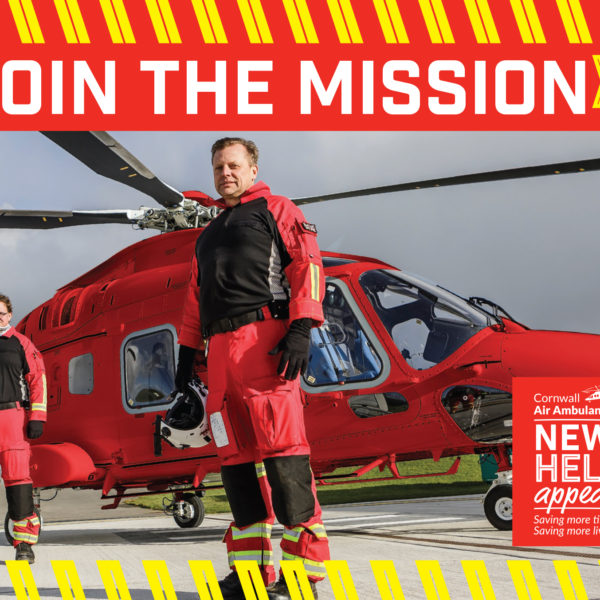 New Heli Appeal for Cornwall Air Ambulance